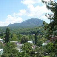 Вид на гору Развалка