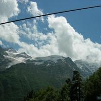 Экскурсия на Эльбрус. Вид с канатной дороги