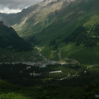 Экскурсия на Эльбрус. Панорама подножья гор