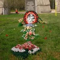 Памятник погибшим воинам 55 армии защищавших Ленинград