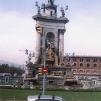 Барселона. Памятник четырём природным  стихиям.
