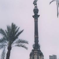 Барселона. Памятник Христофору Колумбу.