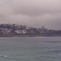 Биарриц. Вид на побережье.