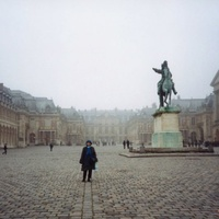 Версаль. Туманная зима.