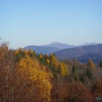 widok na gory Bieszczady
