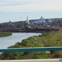 Город Задонск, река Дон