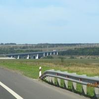 Сахаровка, мост через реку Сосна