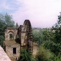 Толедо. Руины водяной мельницы.