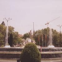 Мадрид. Фонтан.
