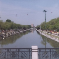 Мадрид. Река Тыжу.