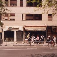 Мадрид, поломники идут на встречу к ПАПЕ РИМСКОМУ.