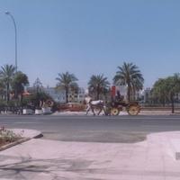 На улицах Севильи.
