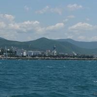 Вид города с моря