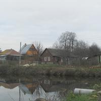 Дома у пруда