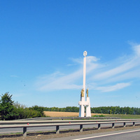 Граница Лпецкой и Тульской областей