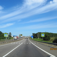 Платоновка, дорога на Москву