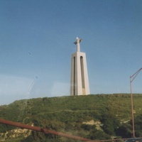 Лиссабон. Памятник Иисусу Христу.