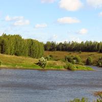 Сухие Плоты, пруд