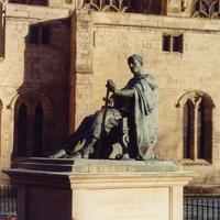 Йорк. Памятник Константину Великому.
