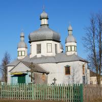 Старинная деревянная церковь на ул.Кобижча
