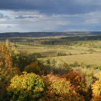 Склоны горы в Михайловке