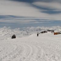 Лыжная трасса на Эльбрусе