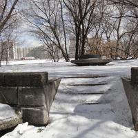 Пьедистал памятника Сталину