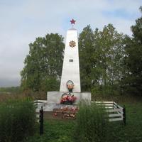 Воробьевская,Монумент погибшим землякам