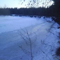 Псел зимой