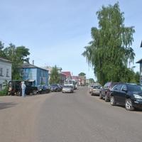Емецк. Центральная улица.