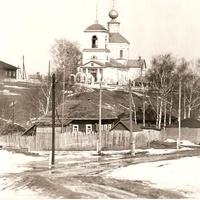 Высокополянская церковь. 1976г. Конец марта.