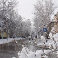 Улица Театральная. Зима 2012 г.