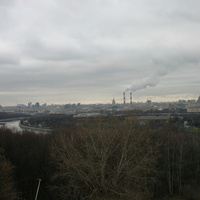 Вид с Воробьёвых (Ленинских) гор