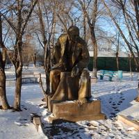 Одинокий Ленин.