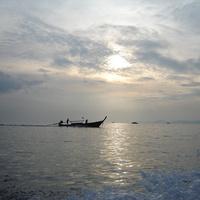 Краби. Вид на море.