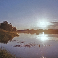 д. Симонов Городок р. Мелеча 1998 г.