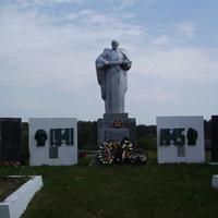 Фрагмент братского кладбища в д.Бабиновичи