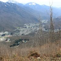 Поселок Эсто-Садок сверху