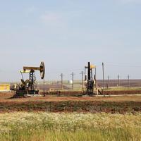 Нефтекачалки возле Сарапула