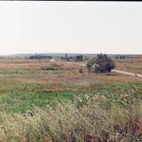 Въезд в село от с.Старобогдановка