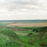 Центральная часть села.