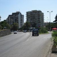 Tivat street. Улица в Тивате.