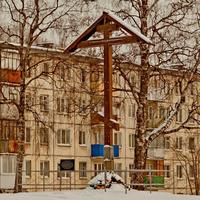 Поклонный крест на Ленинградском проспекте
