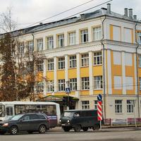 Улица Урицкого. Гимназия № 21.