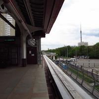 Станция Тимирязевская Московской монорельсовой транспортной системы