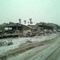 Развалины завода АЗЛК