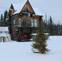 Штабной домик на лыжном стадионе