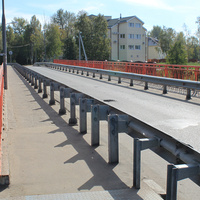 Мост через реку Соломбалку