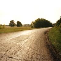 Объездная дорога с юга села Харламово
