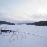 Зимой на плотине 02